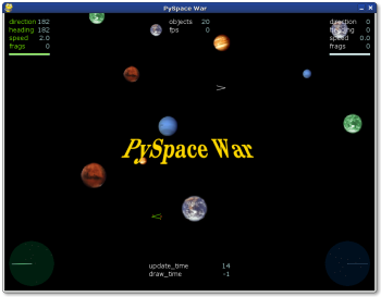 PySpace War screenshot